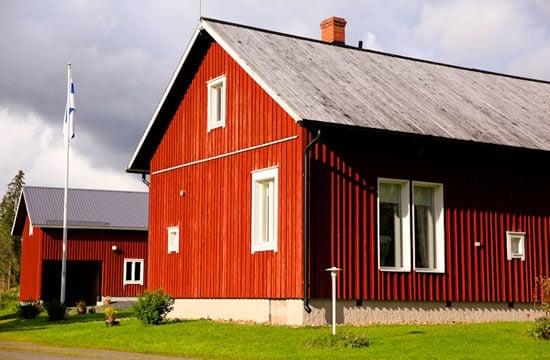 Kristina's relative's farmhouse