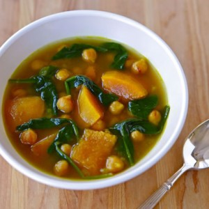 Butternut Squash and Chickpea Soup