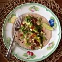 Casamiento Rice and Bean Wrap - via eatingrules.com