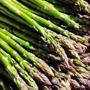 Asparagus from the Santa Monica Farmers Market