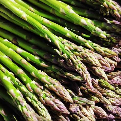 Asparagus from the Santa Monica Farmers Market