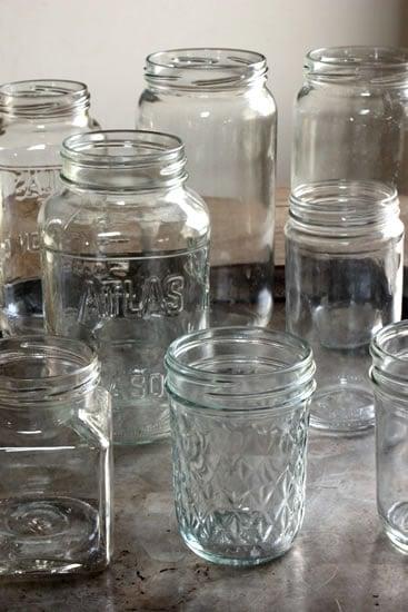 Fifteen Uses For Glass Jars