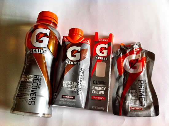 Gatorade samples