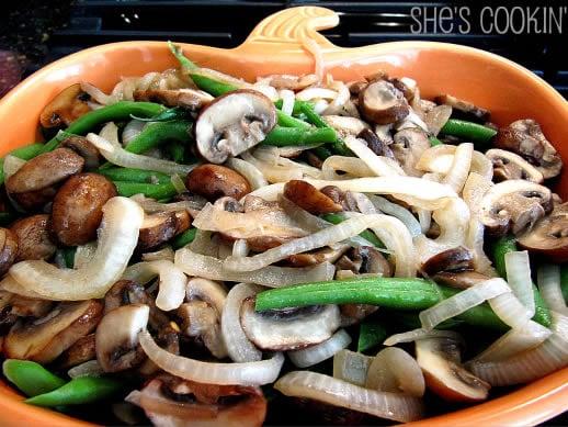 Mushroom, Green Bean Casserole Redux