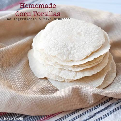 Best way to make homemade corn tortilla from scratch