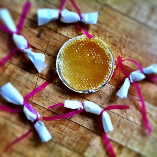 Homemade Honeycomb Gum