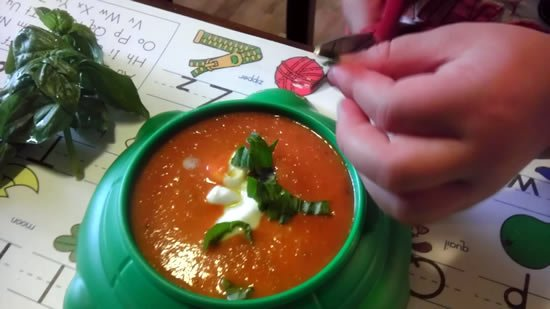 Homemade Tomato Soup