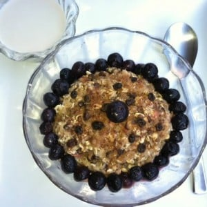 Overnight Muesli by Chef AJ via eatingrules.com