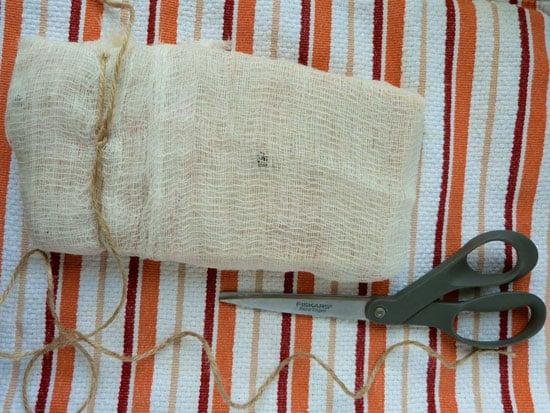 Pancetta first knot