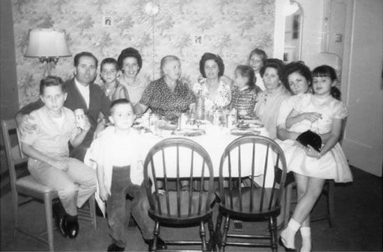 Mary Papoulias-Platis Family Portrait