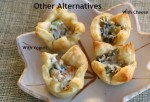 Veggie Phyllo Cups Alternate FIllings