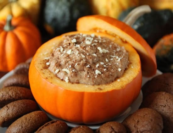 White Chocolate Pumpkin Dip