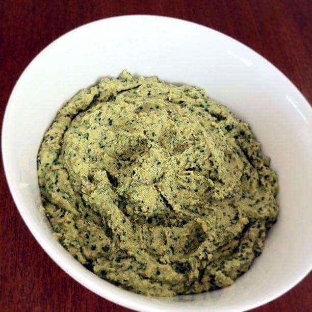 Kale and Garlic Hummus