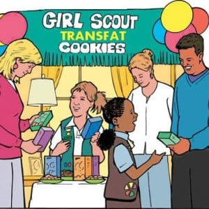 Girl Scout Trans Fat Cookies