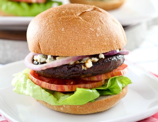 Grilled Portobello Blue Cheese Burger