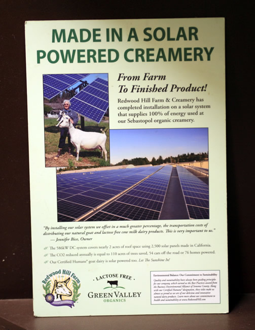 Made in a Solar-Powered Creamery