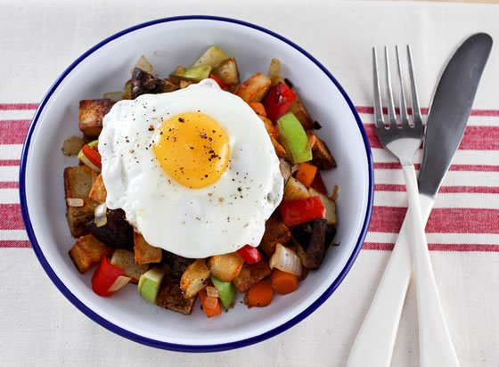 Apples are the key to the Best Breakfast Potatoes