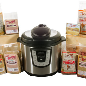 Bob's Red Mill Beans and Pressure Cooker Giveaway