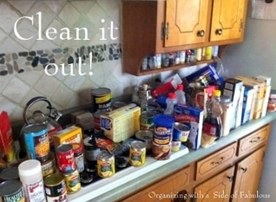 Organizing Your Pantry for a Successful October #Unprocessed Challenge