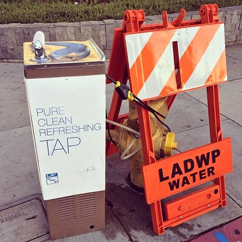 Tap Water Drinking Fountain