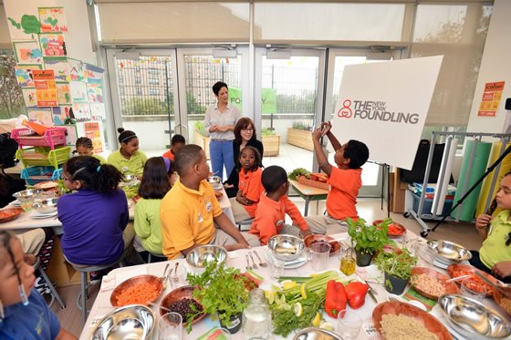 Food Day gets kids Cooking