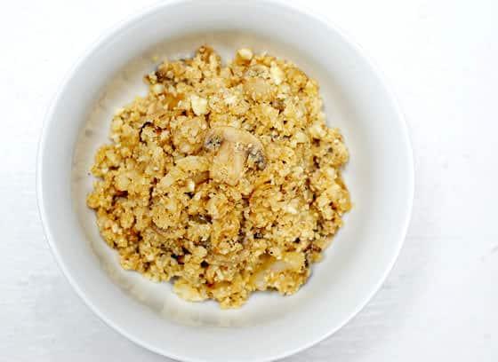 "Cauliflower Fried ""Rice"""