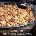 The Top Ten Gluten-Free Misconceptions and Pitfalls, plus Oats & Honey Apple Crumble