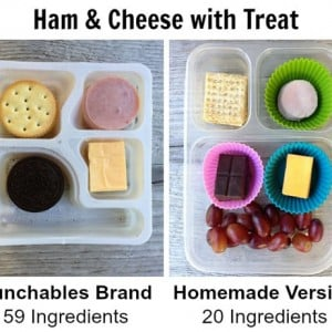 Homemade Healthier Lunchables