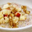 Quick-Cooked Apple Pie Oats, and Why Perfectionism Sabotages Healthy Habits