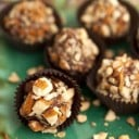 Raw, Vegan Peanut Butter Fudge Truffles