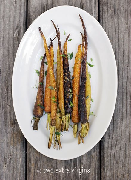 Let's Rock and Roast Our Vegetables