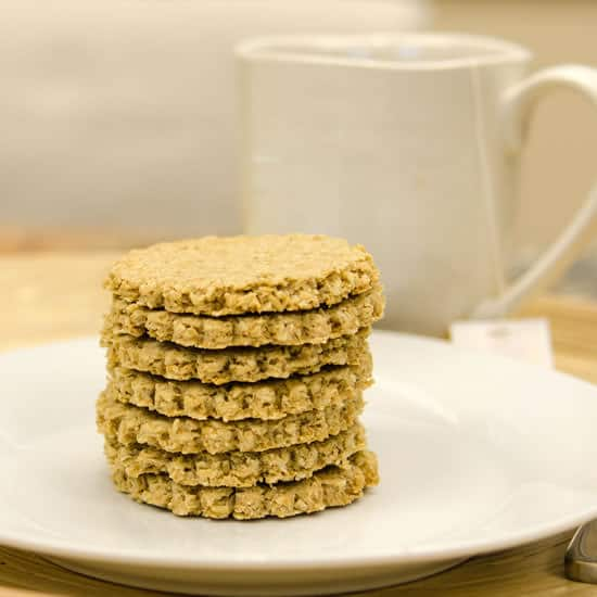 Stone milled scottish oatcakes eating rules