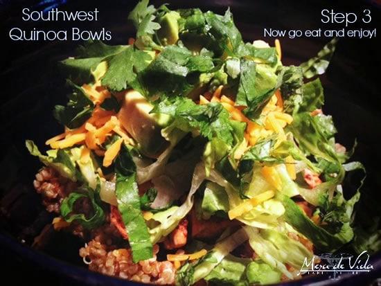 Easy, Southwestern Quinoa Bowls