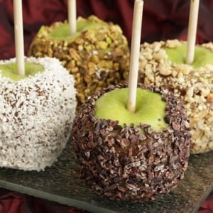 Unprocessed Caramel Apples