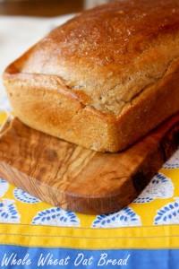 Whole Wheat Oat Bread