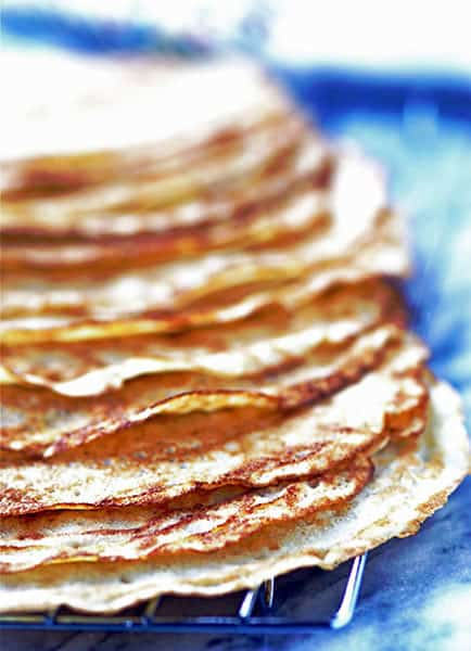 Whole Wheat Pastry Flour Crepes