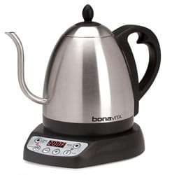 Variable Temperature Electric Kettle with Gooseneck Spout