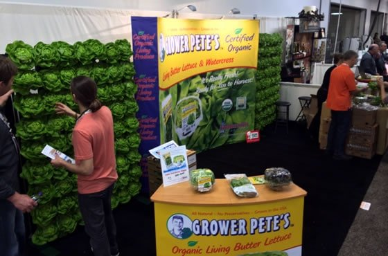 Grower Pete's Expo West Booth