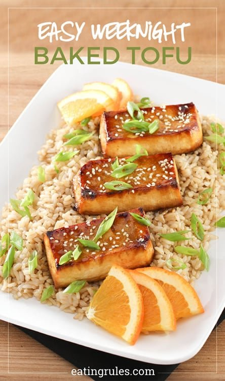 Easy Weeknight Baked Tofu