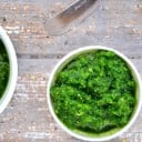 Easy Spinach Almond Pesto