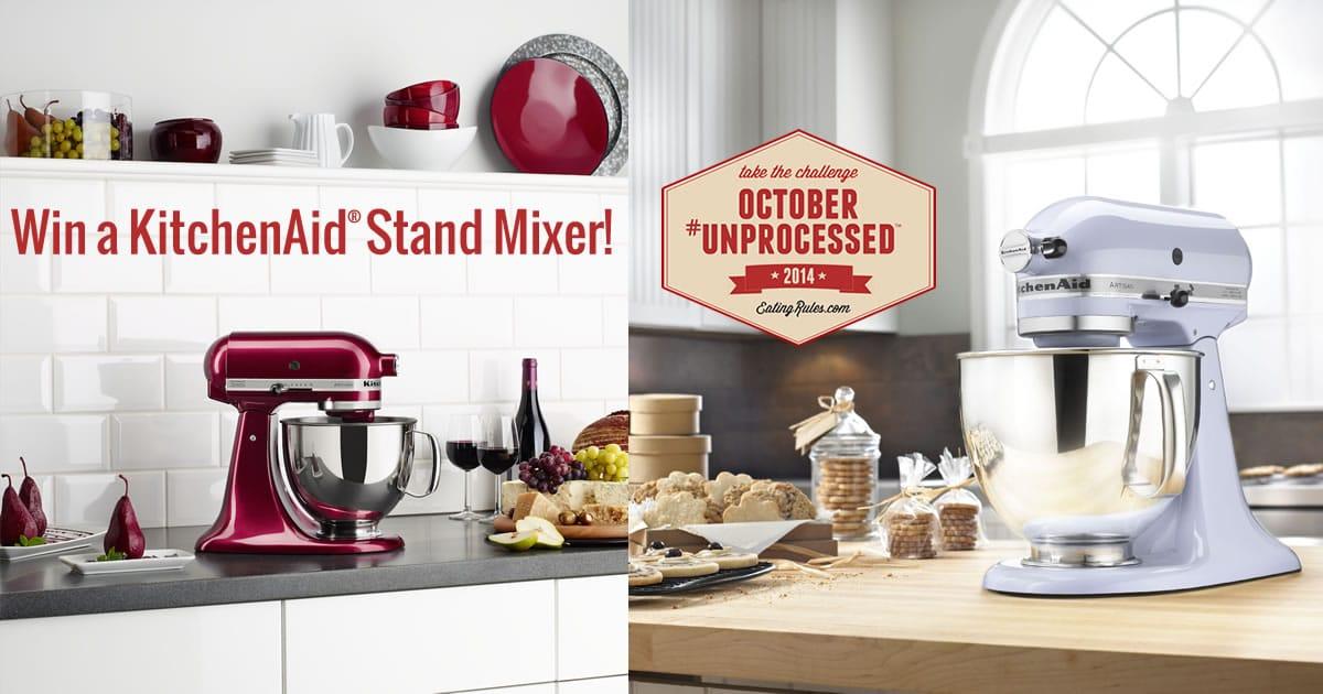 Win A Kitchenaid 174 Stand Mixer Amp Food Processor Attachment