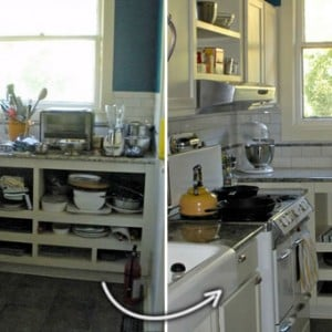 Organize your kitchen for October Unprocesed