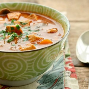 Creamy Chicken Tomato Vegetable Soup