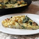Roasted Potato and Kale Frittata