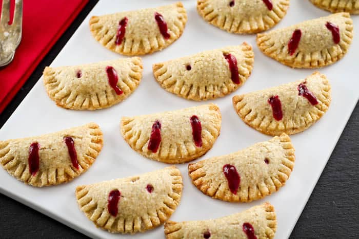 "Vampire Pie 'Bites"" for Halloween"