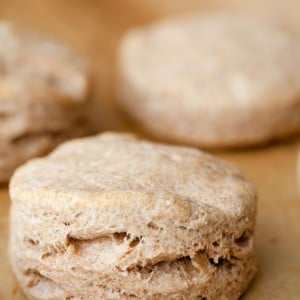 Whole Wheat Biscuits from 100 Days of Real Food