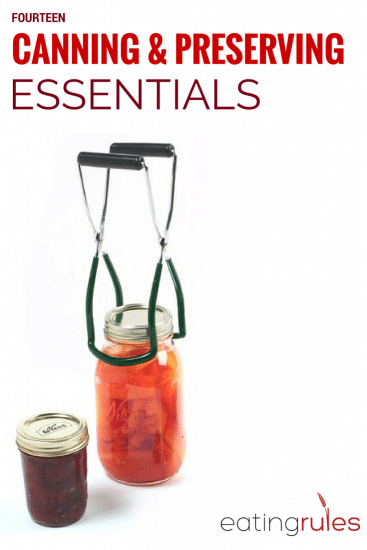 Canning and Preserving Essentials
