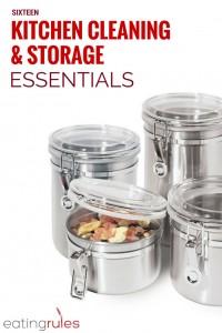 Kitchen Cleaning & Storage Essentials
