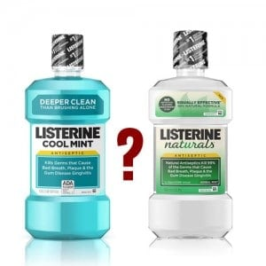 Listerine Naturals is not natural