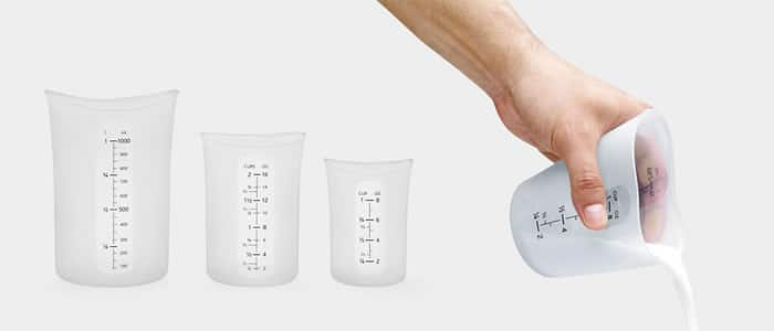 Flexible Measuring Cups